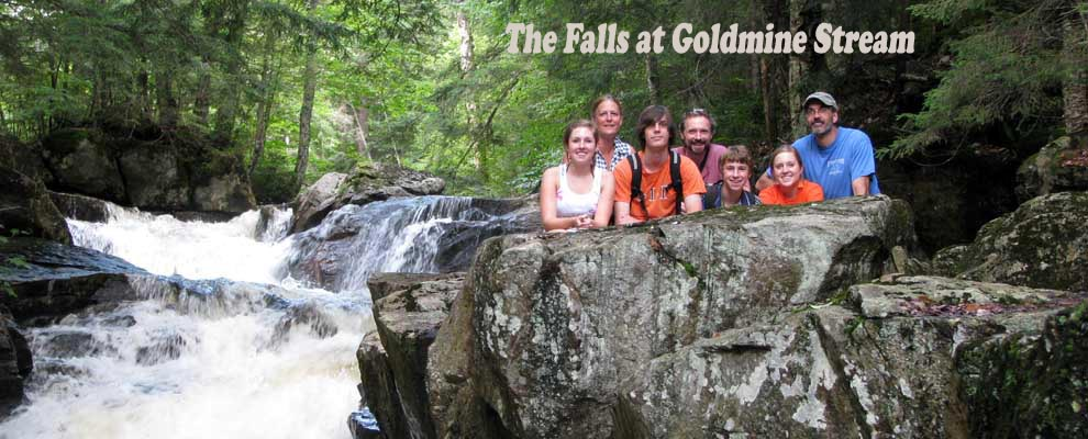 Goldmine by falls
